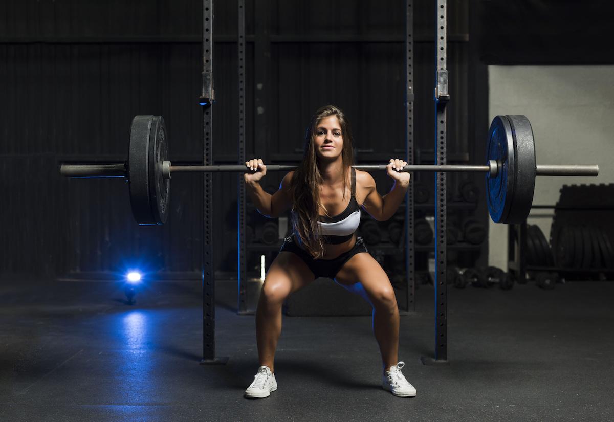筋力の増加